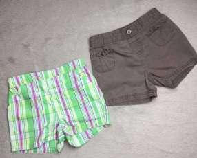 Par de shorts