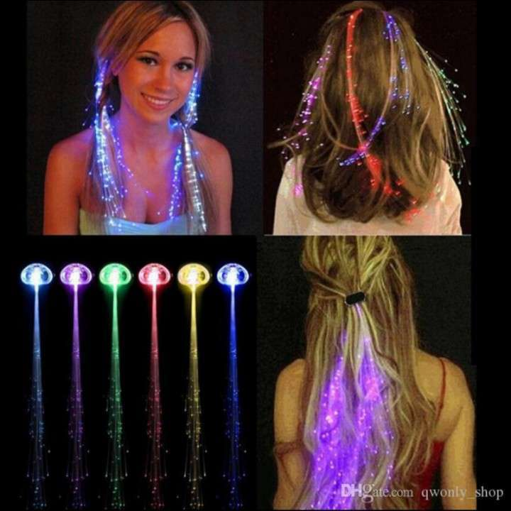 Decorativo LED para cabello - 1