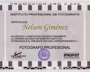 Servicio de Fotografía y Filmación