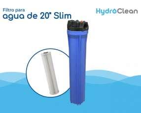 Filtro para agua 20 pulgadas Slim