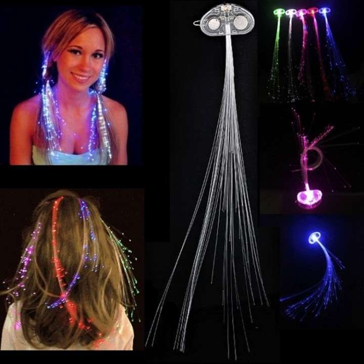 Decorativo LED para cabello - 0