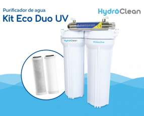 Purificador Kit Eco Duo con UV