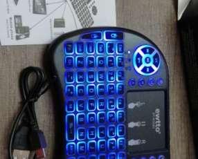 Mini teclado inalambrico con luces