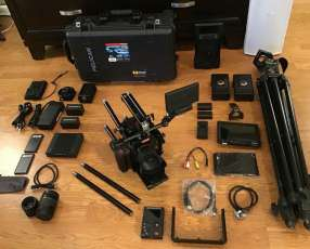 Red epic dragon x 6k camera w/lots of extras