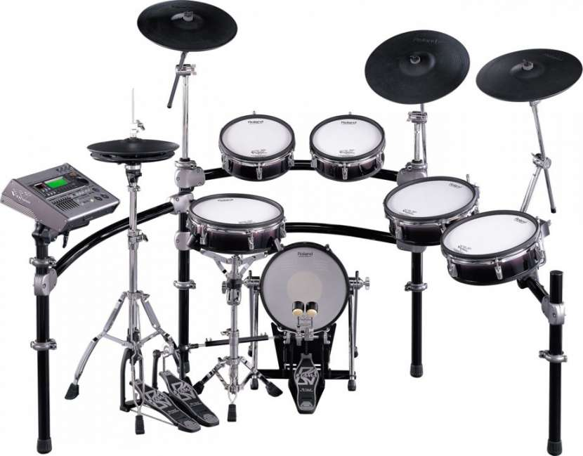 Roland TD-20S V-Pro Electronic Drum Set - 0