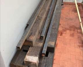 Materiales de cedro y lapacho