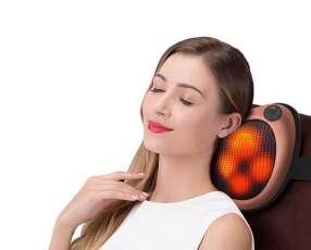 Cojín masajeador shiatsu para cuello espalda lumbar y pies