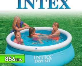 Piscina Intex 886 Ltrs con borde inflable 54402 / 2810
