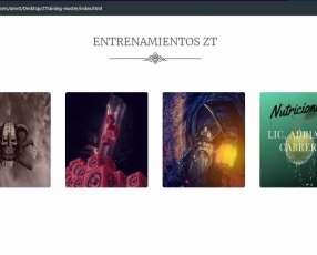 Páginas Web Zaethar