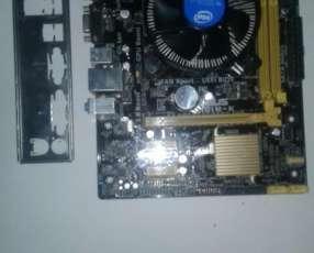 Placa madre H81M-K + Procesador Pentium
