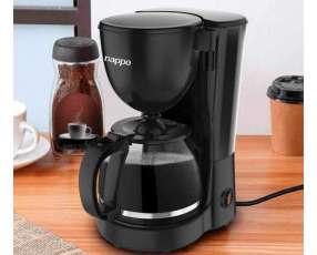 Cafetera eléctrica con café guarania