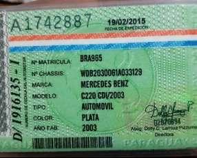 Mercedes Benz C220 CDI 2003