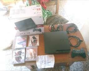 Playstation 3 con caja y todos sus accesorios