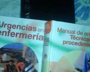 Libro de enfermería y diccionario de medicina