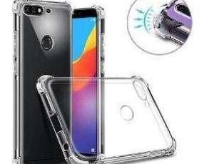 Carcasa Transparente De Silicona p/ Huawei Y7 2018