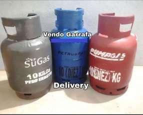 Garrafa gas 10 kilos