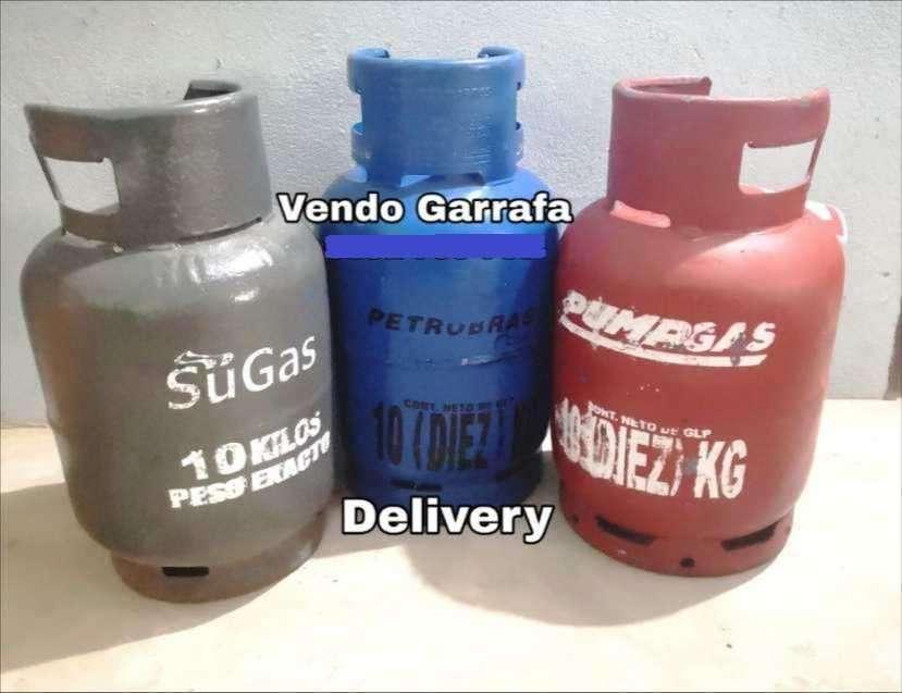Garrafa gas 10 kilos - 0