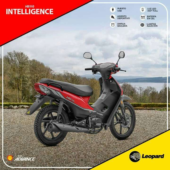 Moto Leopard Intelligence 110 - 0