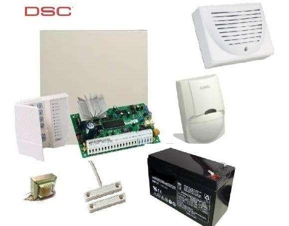Kit Alarma DSC 585 - 8 Zonas - 1