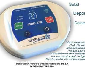 Magnetoterapia portatil, ideal para trabajos a domicilio