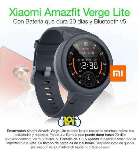 Smartwatch amazfit verge lite - 0