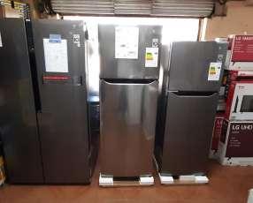 Heladeras LG inverter de 235 litros 340 litros y 613 litros