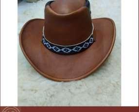 Sombreros en cuero