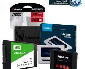 Discos SSD de 120 GB a 2 TB