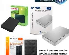 Disco duro externo de 500 GB a 5 TB