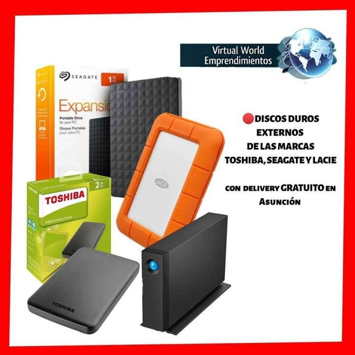Disco duro externo de 1 GB a 8 TB - 1 año de garantía - 0