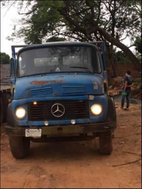 REMATO Mercedes Benz 1113 brasilero