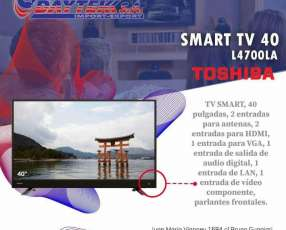 TV LED Toshiba 40 pulgadas