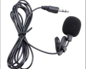 Micrófono solapero clip