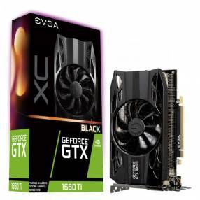 VGA EVGA N GTX1660TI XC BLACK 06GB DD6 06G-P4-1261-KR