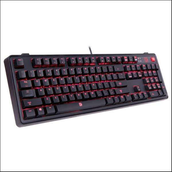 Teclado gamer thermal kb-mgp-rdbdus-01 meka pro cherry red - 1