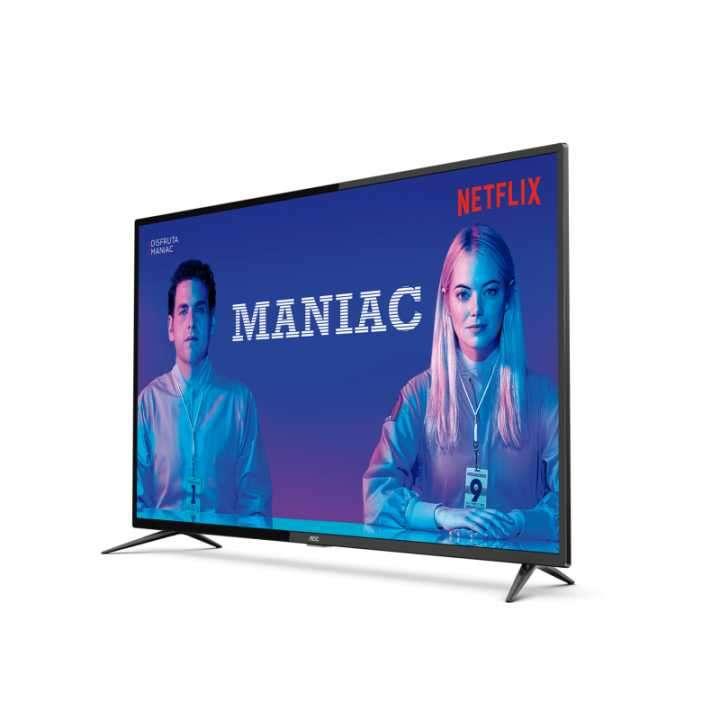 TV AOC 55 pulgadas 55U6285 UHD 4K/USB/HDMI/Digital/Smart - 0