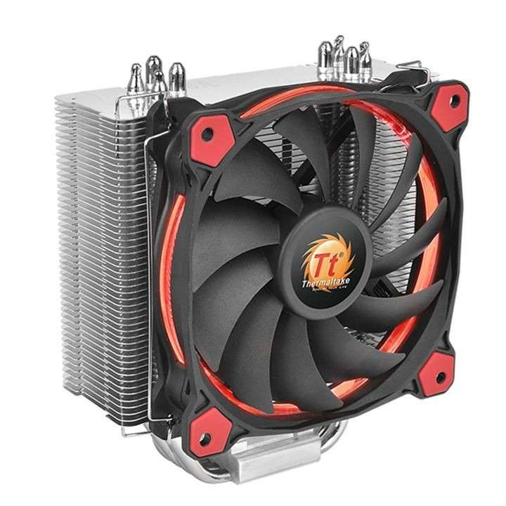 Cooler p/cpu thermal riing silent 12 led red 120mm cl-p022-a - 0