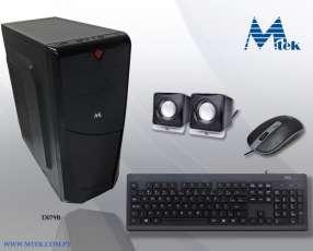 Gabinete mtek d079b kit teclado y mouse