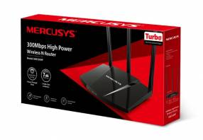 Wire router mercusys mw330hp 300 mbps 7dbi