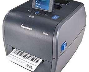 Impresora honeywell pc43t usb/serial/red