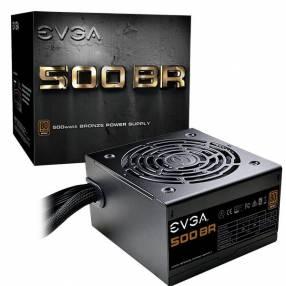 Fuente evga 500w 80 plus bronze 100-br-0500-k1