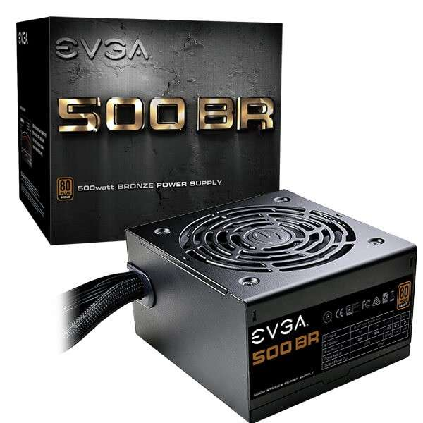 Fuente evga 500w 80 plus bronze 100-br-0500-k1 - 0