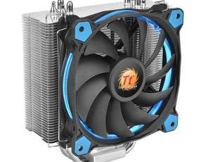 Cooler p/cpu thermal riing silent 12 led blue 120mm cl-p022
