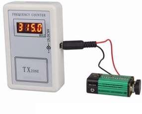 Medidor de frecuencias control remoto llaves