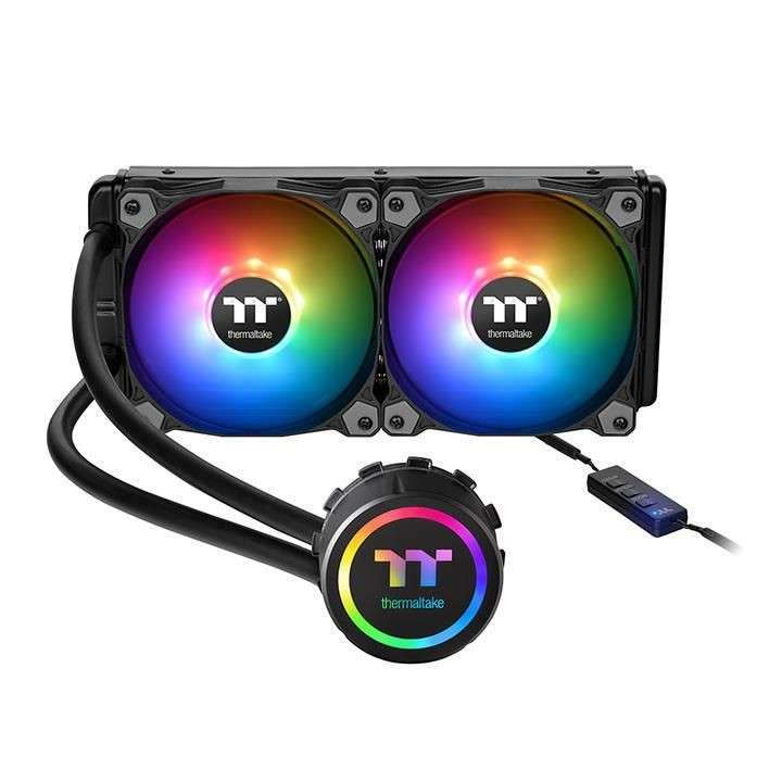 Cooler p/cpu thermal water 3.0 240 argb sync cl-w233-pl12sw - 0