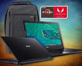 Notebook Acer Aspire Ryzen 3 y mochila de regalo