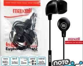 Auricular Maxell In-Bax con Micrófono
