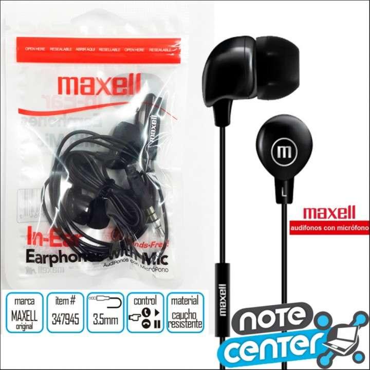 Auricular Maxell In-Bax con Micrófono - 0