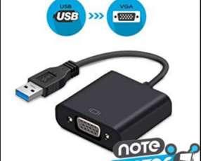 Adaptador USB 3.0 a VGA