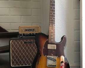 Guitarra eléctrica G&L Asat Classic Semi-hollow USA